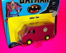 "Ertl ""THE JOKER VAN"" Die-Cast Metal w Mini Figure Driver BATMAN DC COMICS BOOK"