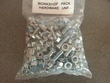 WILLYS JEEP UNF NUTS & BOLTS, SCREWS, WASHERS 400 APPROX