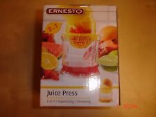 Ernesto Juice Press 2 in 1 Squeezing.Straining.