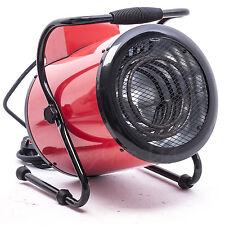 RayGar 3KW Industrial Fan Heater Workshop Cylinder Warm Air Electric Fan 3 Speed