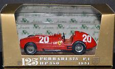 Vintage Brumm Italy r125 1/43 Scale Diecast Car 1951 Ferrari 375 F1 HP380 #20