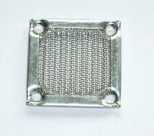 Lüftergitter Aluminiumfilter silber 40x40mm für 40mm Gehäuselüfter