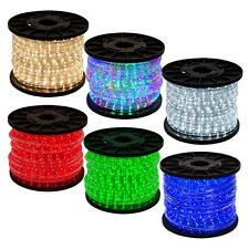 50' 100' 150' 300' LED Rope Lights Home In/Outdoor Christmas Decoration Lighting