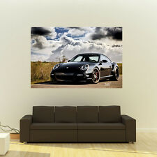 Porsche 911 997 TT on 360 Forged wheels Poster Huge 54x36 Inch Print