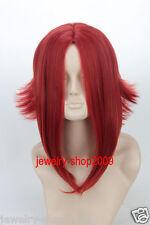 New wig Cosplay Code Geass /Kouzuki Kallen Dark Red Reflex Action Halve Wig