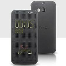 New Fashion HTC Dot View Premium Flip Smart Case Cover for HTC Smart Phone