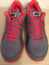 NIKE PERFORMANCE LUNAR FOREVER 3 RUNNING SHOE MEN'S SIZE 8 GREY/CRIMSON/BLACK