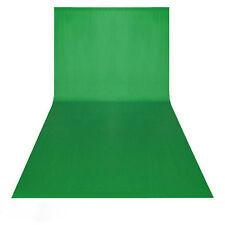 3x6M Hintergrund Hintergrundstoff Chromakey screen grün 100% Baumwolle ◀