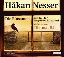 Hakan Nesser: DIE EINSAMEN * Hörbuch * gelesen von Dietmar Bär * wie NEU
