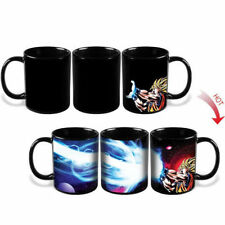 Dragon Ball Z SSJ Goku Heat Reactive Color Changing Coffee Mug Cup U.S Seller!