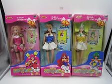 Anime Wedding Peach Angel Lily Angel Daisy Figure Doll Set TOMY Japan Vintage