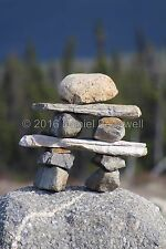 The Inukshuk, 8x10 photograph