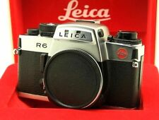Leica R6 Silver 35mm SLR Film Camera Body with Box Excelent++++