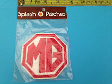 MG sew on patch vintage but still sealed