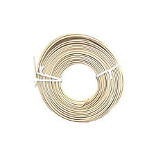Eagle 50' FT Round Telephone Cable Ivory 24 AWG 4 Conductor Phone Cord Line Bulk