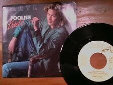 "DARYL HALL 45 RPM ""Foolish Pride"" ""What's Gonna Happen to Us""  w/ pic sl VG+"