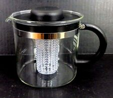 MELIOR GLASS INFUSER TEAPOT 4 CUPS