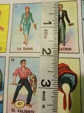 FOLDED Don Clemente Loteria Mexican Bingo Paper to Make Boards, gift wrap, etc