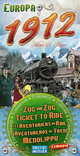 Ticket to Ride, Europa 1912, Expansion, New, Multilingual Edition