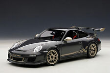 1/18 Autoart Porsche 911 (997) gt3 RS 3.8 (Grey Black/White Gold 2010