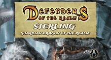 DEFENDERS OF THE REALM: STERLING - GUARDIAN DRAGON OF THE REALM (PAINTED)