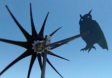 Commander Wind Turbine generator OWL TAIL 11 Blade 1000 Watt 12 Volt DC  2 wire