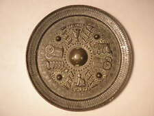 LARGE CHINESE BRONZE MIRROR  DATE UNCERTAIN