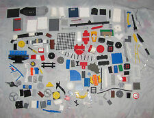 Lego Lot - Random Parts - Trap Doors, Tubes, Dice, Ladder, Net, Fence Specialty