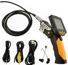 "3.5"" LCD Video Snake Inspection Endoscope Borescope Tube 8.2mm Camera 5M NTS200"