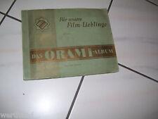 ORAMI Zigaretten Bilder Album Für unsere Filmlieblinge II 1931 Film cards
