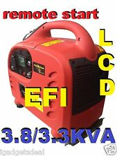 EFI !!! MODEL 3800 W MAX 3300 W RATED INVERTER PURE SINE WAVE REMOTE START LCD