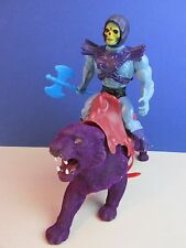vintage HE MAN SKELETOR & PANTHOR ACTION FIGURE MOTU master of the universe 982