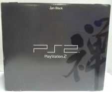 CONSOLE SONY PLAYSTATION 2 ZEN BLACK LIMITED EDITION W/ GUNDAM IMPORT NTSC JAPAN