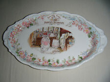 RARE Royal Doulton Brambly Hedge Poppy's Bedroom Tray ~ 1st Quality ~ Excellent