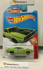 '71 Dodge Challenger #104 * GREEN * Hot Wheels 2016 * B4