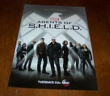 Marvel AGENTS OF SHIELD / AGENT CARTER ABC DOUBLE SIDED POSTER Inhumans NEW