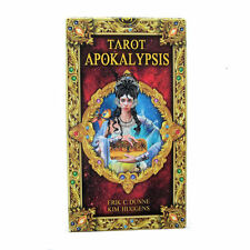 Apokalypsis Tarot 78 Cards Deck with Multilingual Instructions