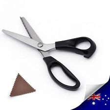 1 x Stainless Dressmaking Tailor Sewing Pinking ZigZag Scissor Triangle Sawtooth