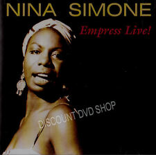 NINA SIMONE EMPRESS LIVE MUSIC CD