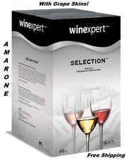 Italian Amarone Wine Making Kit w/ Grape Skins Selection International Winexpert