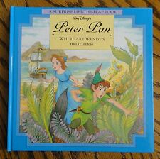 PETER PAN - Disney - Lift-the-Flap *Personalized* Childrens Book.