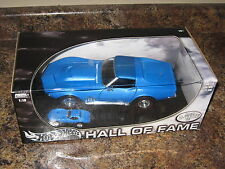 1:18 Hot Wheels 1969 Chevy Corvette Limited Edition Hall of Fame VHTF Rare '69