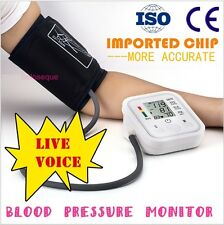 TENSIOMETRO PULSOMETRO DIGITAL BRAZO Arm Blood Pressure Monitor Tensiometer Voz