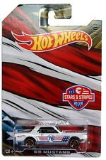 2016 Hot Wheels Stars & Stripes #3 '65 Ford Mustang