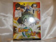 The Law of Ueki  Vol. 1: The Battle Commencement (DVD, 2006)NEW SEALED FREE S&H