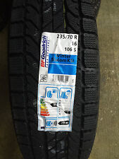 4 New 235 70 16 BFGoodrich Winter Slalom KSi Snow Tires