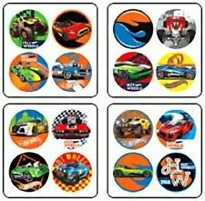 64 Hot Wheels Dot Stickers (16 Sheets) Party Favors