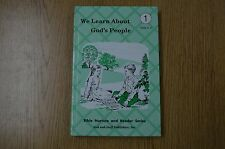 We Learn about God's People : Teacher's Manual, Units 4, 5 by Amy Herr and...