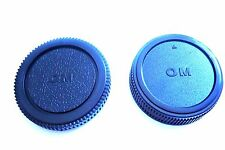 OM mount Camera Body + Rear Lens Cap for Olympus Camera OM1/2/4/10/20/30/40 New