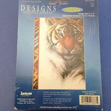Janlynn Designs for the Needle ~ Counted Cross Stitch~ Tiger ~ Ships FREE!